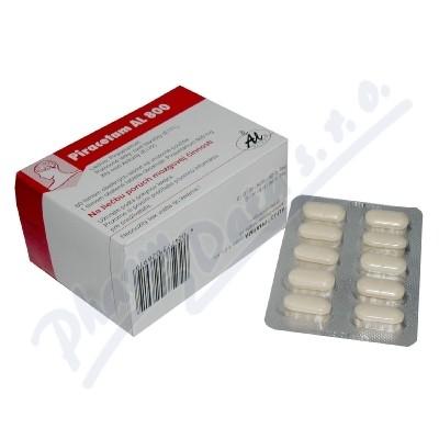 Piracetam AL 800 tbl.obd.60x800mg