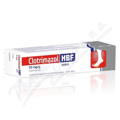 Clotrimazol HBF drm.crm.1x50g 1%