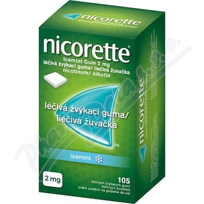 Nicorette Icemint Gum 2mg gum.mnd.105