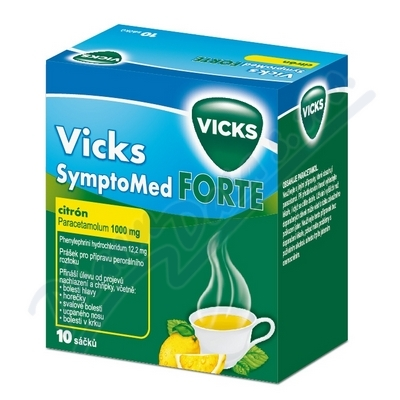 Vicks Symptomed forte citron por.plv.sol.10