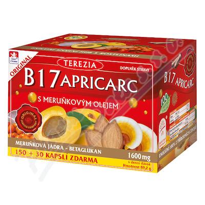 TEREZIA B17 APRICARC s meruň.olejem cps.150+30