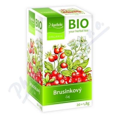 Apotheke BIO Brusinkový ovocný čaj 20x1.8g