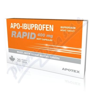 Apo-Ibuprofen Rapid 400mg cps.mol.20x400mg I