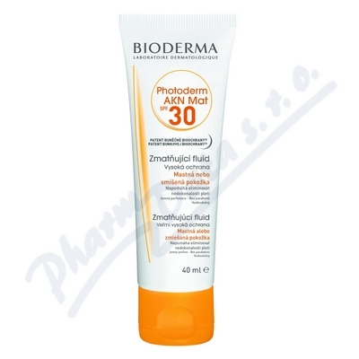 BIODERMA Photoderm AKN Mat SPF 30 40 ml
