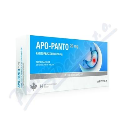 Apo-Panto 20mg por.tbl.ent. 7x20mg