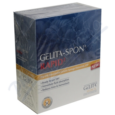 Gelita-Spon Rapid3 GR-310 Cube 10x10x4mm 50ks