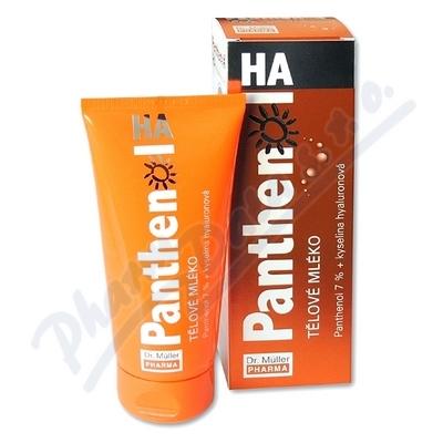 Panthenol HA tělové mléko 7% 200ml Dr.Müller