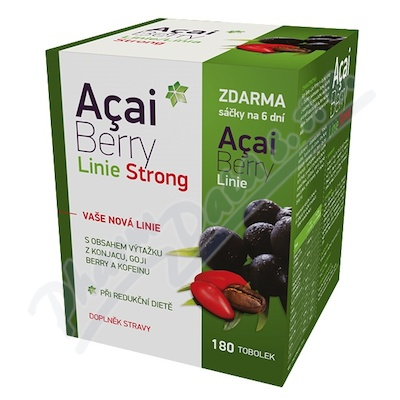 Acai Berry Linie Strong tob.180
