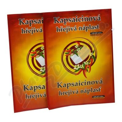 Kapsaicinová hřej.náplast 7x10cm 1ks CAPSICOLLE