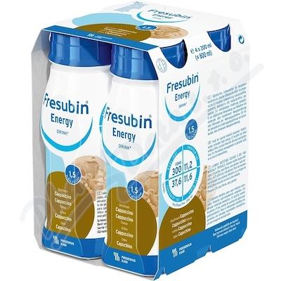 Fresubin Energy drink cappuccino por.sol.4x200ml