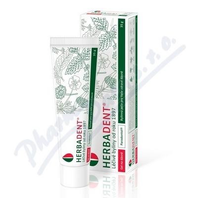 HERBADENT Parodontol gel na dásně 35g
