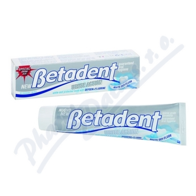 BETADENT zubní pasta White Action 125ml ekonom.bal