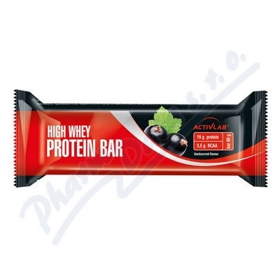 ActivLab Proteinová tyčinka 80g černý rybíz