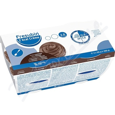 Fresubin 2 kcal Creme Čokoláda por.sol.4x125g