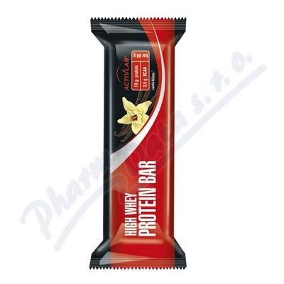 ActivLab Proteinová tyčinka 80g vanilka