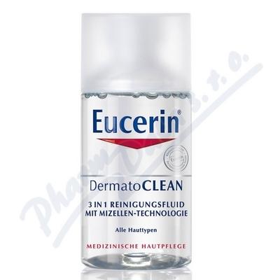 EUCERIN DermatoCLEAN MINI micelár.voda 125ml BONUS