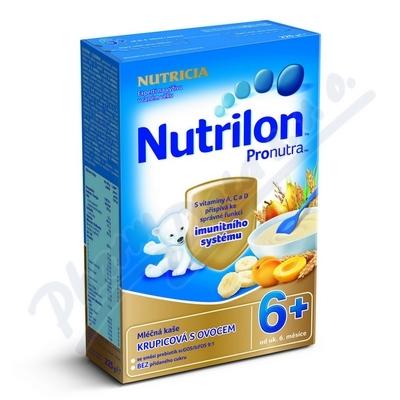 Nutrilon kaše Pronutra ml. ovocná 225g 6M