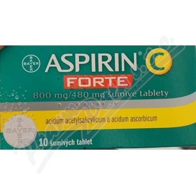 Aspirin C Forte šumivé tablety por.tbl.eff.10