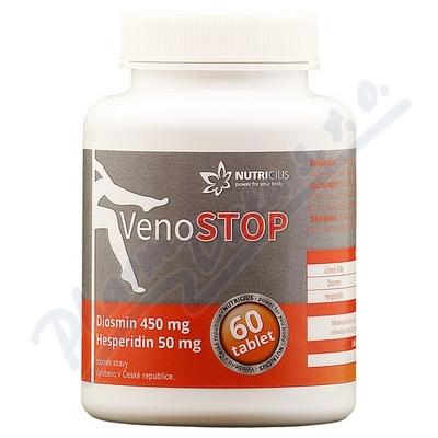 VenoSTOP - Diosmin 450mg/Hesperidin 50mg tbl.60