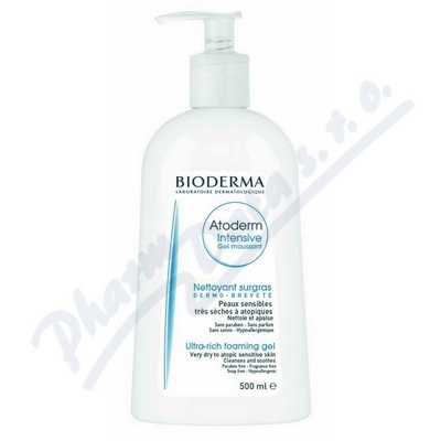 BIODERMA Atoderm Intensive Gel moussant 500 ml