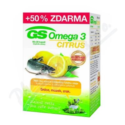 GS Omega 3 Citrus cps.60+30 2015