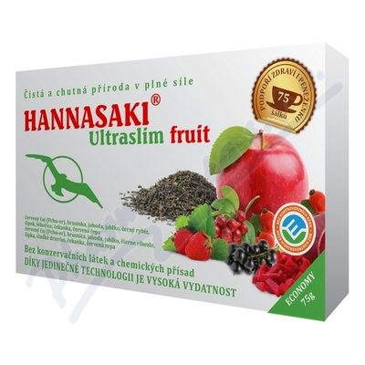 Hannasaki Ultraslim fruit 75g