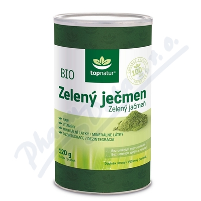 BIO Zelený ječmen 120g TOPNATUR