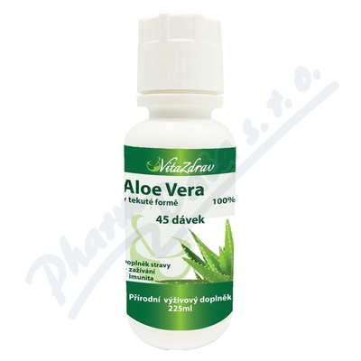 Aloe Vera v tekuté formě 45dávek (225ml)-VitaZdrav