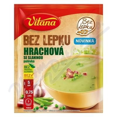 Bez lepku Hrachová se slaninou polévka 74g