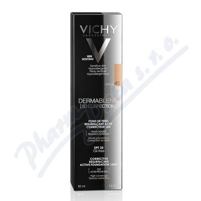 VICHY DERMABLEND 3D make-up č.45 30ml