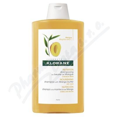 KLORANE Šampon mango na suché vlasy 400ml
