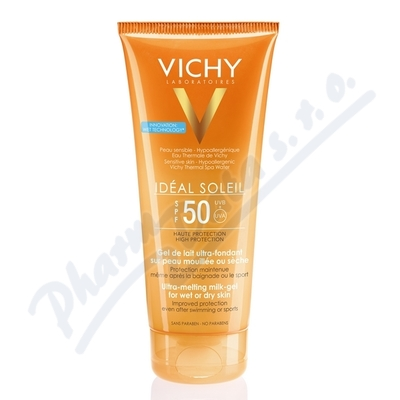 VICHY Ideál Soleil Gel WET SPF50 R16 200ml
