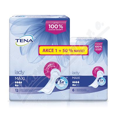 Ink.vlož.TENA Lady Maxi +50% navíc 760960 18ks