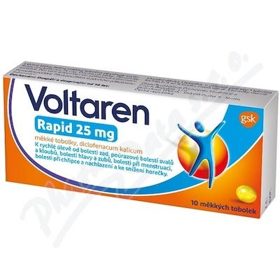 Voltaren Rapid 25mg cps.mol. 10 I CZ