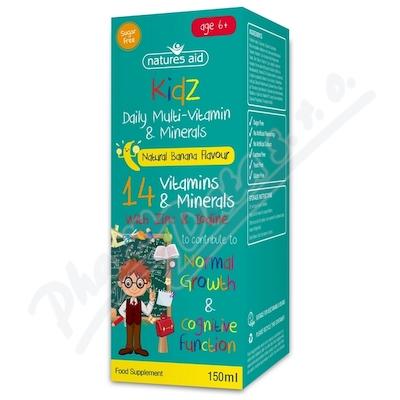 Multivitamíny a minerály pro děti 150ml - sirup