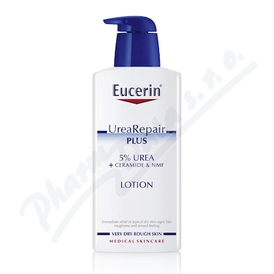 EUCERIN UreaRepair PLUS tělové mléko 5% Urea 400ml