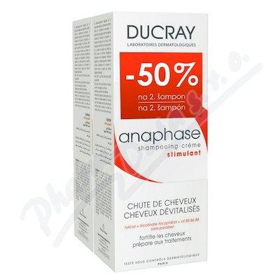 DUCRAY Anaphase+ šampon-vypad.vlasů 200ml DUO