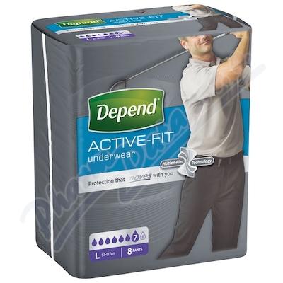 Depend Active-Fit inkont.kalh.muži vel.L 8ks