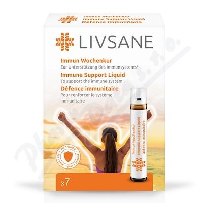 LIVSANE tekutá podpora imunity ampule 7 ks