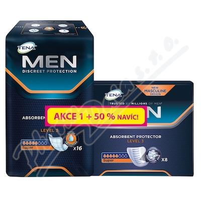 Ink.vlož.TENA Men Level 3 +50% navíc 750862 24ks