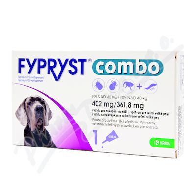 FYPRYST combo 1x4.02ml spot-on pro psy nad 40kg