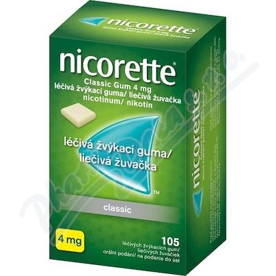 Nicorette Classic Gum 4mg gum.mnd.105