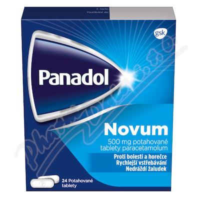 Panadol Novum 500mg tbl.flm. 24 III CZ