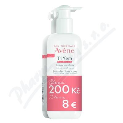 AVENE TriXera Nutri-fluid Balzám 400ml DUO