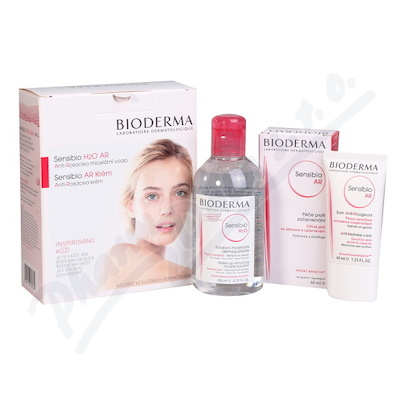 BIODERMA Sensibio H2O AR 250 ml + AR Krém 40 ml