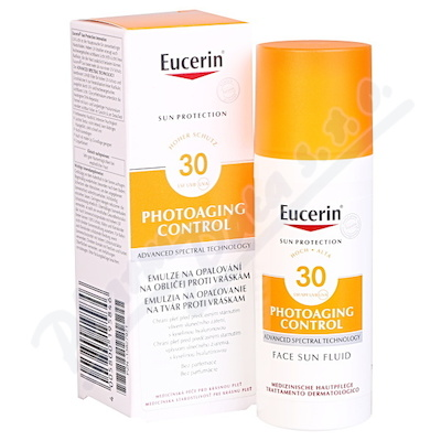 EUCERIN SUN Emulze proti vráskám SPF30 50ml_2018