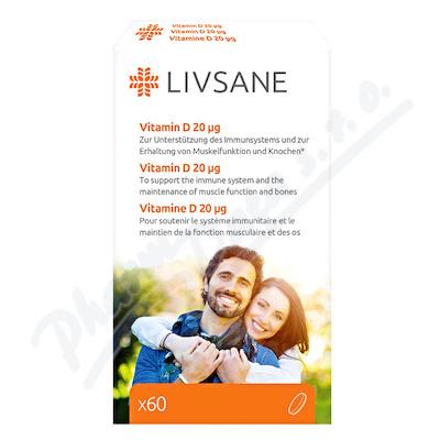 LIVSANE Vitamin D vysoká dávka 60ks