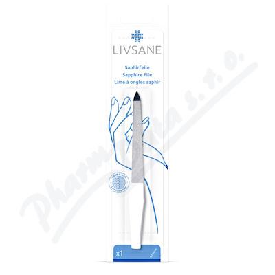 LIVSANE Pilník na nehty safírový 15cm 1ks