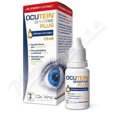 Ocutein SENSITIVE PLUS oční kapky 15ml DaVinci