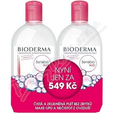 BIODERMA Sensibio H2O 500ml + 500ml Festival